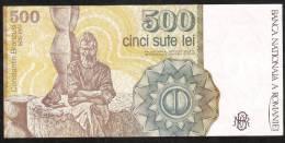 ROMANIA   P98b  500 LEI  April 1991       UNC. - Romania
