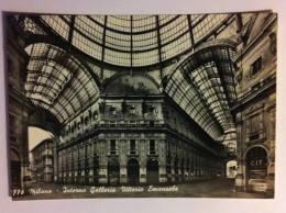 MILANO--INTERNO GALLERIA VITTORIO EMANUELE--FG--V - Milano