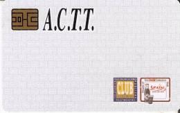 TARJETA DE ESPAÑA DE LA ACTT  DE COCA-COLA (COKE) - Publicidad
