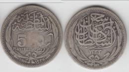 **** EGYPTE - EGYPT - 5 PIASTRES 1916 (1335) - ARGENT - SILVER **** EN ACHAT IMMEDIAT !!! - Egipto