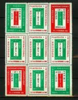 Label,Mexico 1968,9V In Sheetlet,EFIMEX '68,International Philatelic Exhibition, MNH/Postfris(D1614) - Fantasie Vignetten