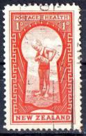 New Zealand 1935 Health - The Key Used - - 1907-1947 Dominion