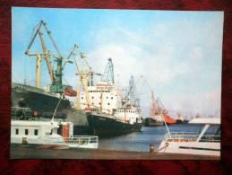 Tallinn - The Port Of Tallinn - Estonia - USSR - 1978 - Unused - Estonia