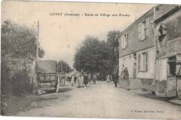 Carte  Postale Ancienne De CORNY - France