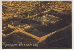 JERUSALEM - The Golden City , Vue Aerienne,  Air View - 1975 - Israel