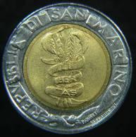 SAN MARINO 500 LIRE 1995 BIMETALLICA - San Marino