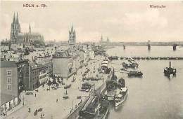 Mars13 1053 : Köln Am Rhein  -  Rheinufer - Koeln