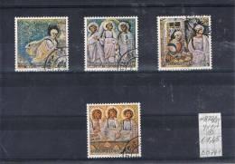 BB 741 VATIKAAN  GESTEMPELD  YVERT NRS 878/881 - Vaticano (Ciudad Del)
