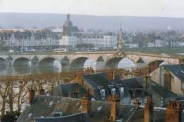 BLOIS L E Pont Et Vue Sur BLOIS VIENNE -Photo Club De La Chesnaie -2 Scans - Blois
