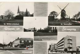 Groeten Uit  Stramproy Windmill Moulin P. Used 1975 Edit Weekers - Non Classificati