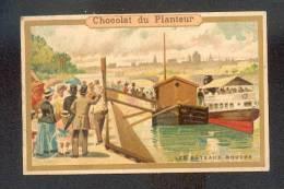 Chromo Chocolat Du Planteur - Les Bateaux Mouche - Unclassified
