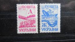 Uk Ukraine 1994 Mi. Nr. 125-126 - Ukraine