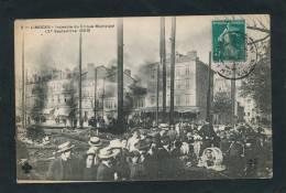 LIMOGES - Incendie Du Cirque Municipal (27 Septembre 1909) - Limoges