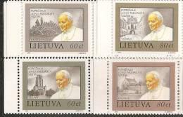 Lituania 1993 Nuovo** - Mi. 533/36 - Lituania