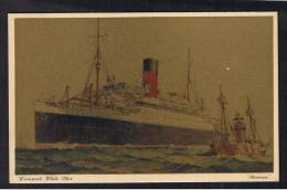 RB 928 - Shipping Transport Postcard - Cunard White Star Line - S.S. Ascania - Paquebote