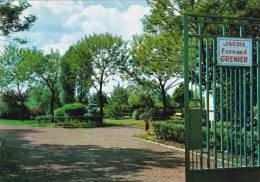 """Carte Postale Couleur """" Le Jardin Public Fernand Grenier """" à Wingles - Autres Communes"""