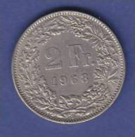 LOT N° 6055  *SUISSE*2 FRANCS*1968  * - Suiza