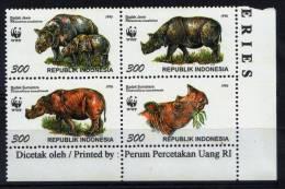 INDONESIEN - 4Block 1996, Badak Jawa (tie193) - Unclassified