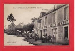 MESNIL-VILLEMENT-PONT DE VERS (14) / COMMERCE / DEVANTURE / HOTEL / Hôtel De La Croix D´Or(Rare) / Animation - France