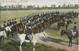 IN PIAZZA D'ARMI CAVALIER BERSAGLIERS BERSAGLIERI 1900 - Guerra 1914-18