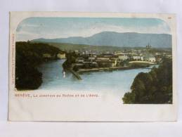 CPA Suisse - Précurseur - Genève - La Jonction Du Rhône Et De L'Arve - 366 - GE Ginevra