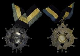 AG00111 Tir Schot Schuss, König 1933 Croix Et Lauriers Argent (14 G.) - Duitsland