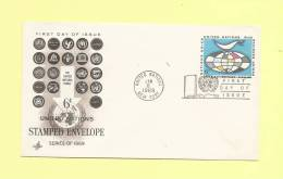 Theme Voir Logos - Entier Postal Nations Unies - 1969 - Timbres