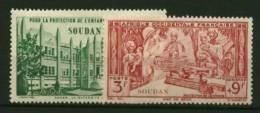 Soudan PA   N° 6 & 8  Neuf  **  Luxe  Cote Y & T  1,80  Euro Au Quart De Cote