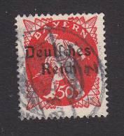 Bavaria, Scott #262, Used, Sower Overprinted, Issued 1920 - Bavaria
