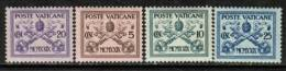 VATICAN   Scott # 1-13*  VF MINT Hinged - Unused Stamps