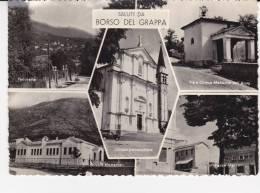 SALUTI DA  BORSO DEL  GRAPPA - Non Classés