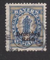 Bavaria, Scott #267, Used, Madonna And Child Overprinted, Issued 1920 - Bavière