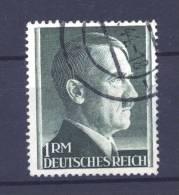 Allemagne  -  Reich  :  Mi  799 B  (o)   Dentelé 14 - Gebraucht