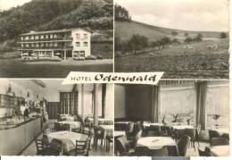 GER163 - Hotel Odenwald - Restaurant Bar Cafe - Waldmichelbach - Germania