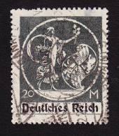 "Bavaria, Scott #275, Used,  Von Kaulbach´s ""Genius"" Overprinted, Issued 1920 - Bavaria"