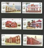 INDIA, 2010, Postal Heritage Buildings, Set 6 V, MNH, (**) - Post