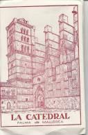 Mallorca Leporello   La Catedral 10 B/W  Postcards  # 852 # - Mallorca