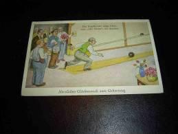 CPSM Allemagne  Bowling - Port Simple Gratuit - Bowling