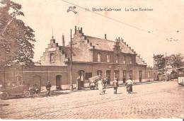 Uccle Calevoet La Gare Extérieur - Chemins De Fer, Gares
