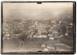 Photo Aérienne Centre Ville  De PHALSBOURG      21 . 11. 1918  Par Avion Militaire - Phalsbourg