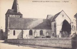 CPA ANNEVILLE SUR SCIE 76 L EGLISE - Francia