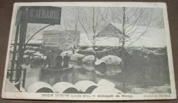 Paris - Inonde - Janvier 1910 - Entrepot De Bercy - Inondations De 1910