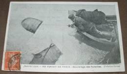 Janvier 1910 - En Amont De Paris - Sauvetage Des Futailles - Inondations De 1910