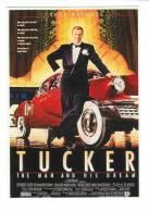 Cinema / Film / Affiche Sur Carte Postale /   Tucker - Affiches Sur Carte