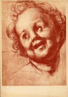 Cartolina TESTA DI PUTTO (Andrea Del Sarto) - E89 - Pittura & Quadri