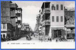 PORT SAID - Arab Town - La Ville Arabe, Nicht Gelaufen 190?; Verlag LL, Sehr Gute Erhaltung - Port Said