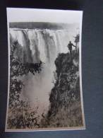 Rhodesie Victoria Falls A View Of The Main Falls Near The Devil's Cataract Published By The Rhodesia Railways - Zimbabwe