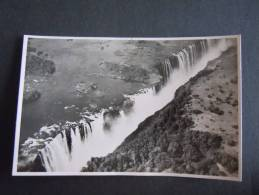 Rhodesie Victoria Falls The Main Falls And Rainbow Falls Seen From The Air Published By The Rhodesia Railways - Zimbabwe