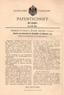 Original Patentschrift - H. Rütsch In Wilen B. Herisau , 1901 , Maschine Für Stickerei , Sticken !!! - Machines