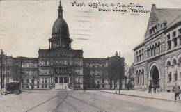 Michigan Lansing Post Office And Capital